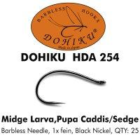 DOHIKU HDA 254 Midge Larva / Pupa Caddis/Sedge