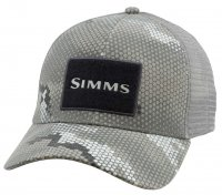 Simms High Crown Trucker Cap Schirmmütze   in Hex Camo Bulder -Neu 2018-
