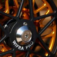 WIFRA PRO / XPRO Fliegenrollen mit Anti-Revers und Power Control