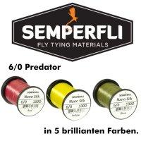 SEMPERFLI Nano Silk Predator 100D 6/0 Bindefaden
