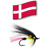 Den Gulle Satan   Orginal Dänische Lachs- und Meerforellen-Fliege