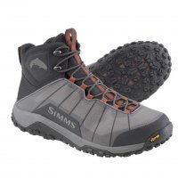 Simms Flyweight Boot Steel Grey Watschuh mit Vibram-Sohle