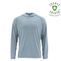 Simms Bugstopper Hoody Grey Blue