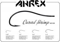 Ahrex  NS150 Curved Shrimp  Fliegenhaken