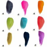 PIKE MONKEY Streamer Haar 11cm  Großpackung in 10 Farben