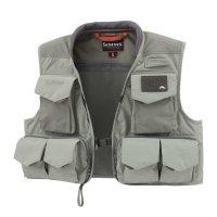 Simms Freestone Fliegenfischerweste Striker Grey / Hex Flo Camo Carbon  Modelle 2020