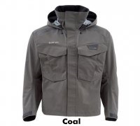 Simms Freestone Jacket Watjacke (in Coal, Hickory und Striker Grey)