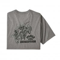 Patagonia Mens Tools For Revolution Responsibili-Tee T-Shirt Gravel Heather