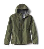 ORVIS CLEARWATER Jacket Moos Watjacke