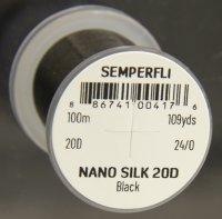 SEMPERFLI Nano Silk Ultra 20D 24/0 Bindefaden