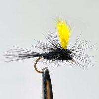 Hi-Viz Parachute Trockenfliege Black Gnad