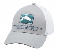 Simms Trout Icon Trucker Schirmmütze Granite
