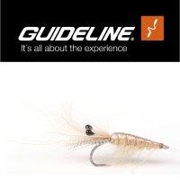 Sand CDC Shrimp #6 Meerforellenfliege by Guideline