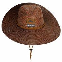 Simms Cutbank Sun Hat Toffee  Sonnen-Stroh-Hut