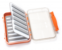 C&F Design Medium 8-Row Waterproof Fly Case with Two-Sided Flip Page (CF-25688CT) Burnt Orange