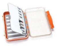 C&F Design Medium 7-Row Waterproof Fly Case with Flip Page (CF-25778CT) Burnt Orange