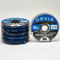 Orvis Mirage Tippet Material Fluorocarbon Vorfachmaterial auf 30m-Spule